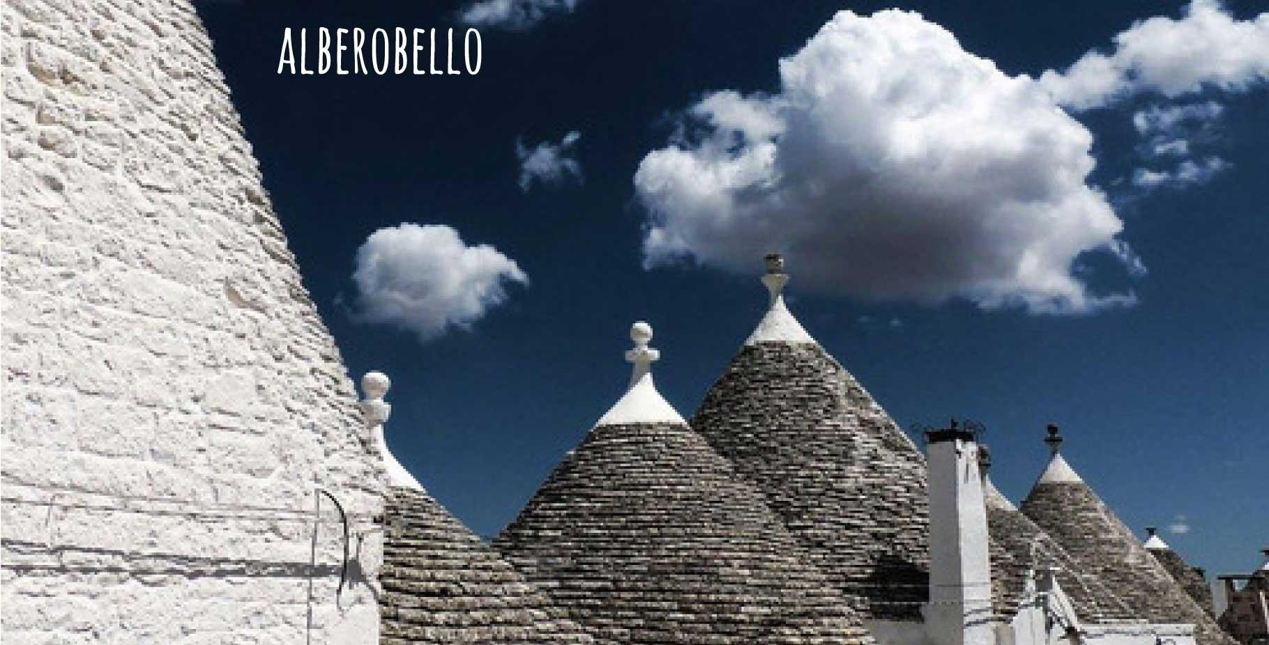 Apulien Rundreise Luxury: Alberobello und Trulli