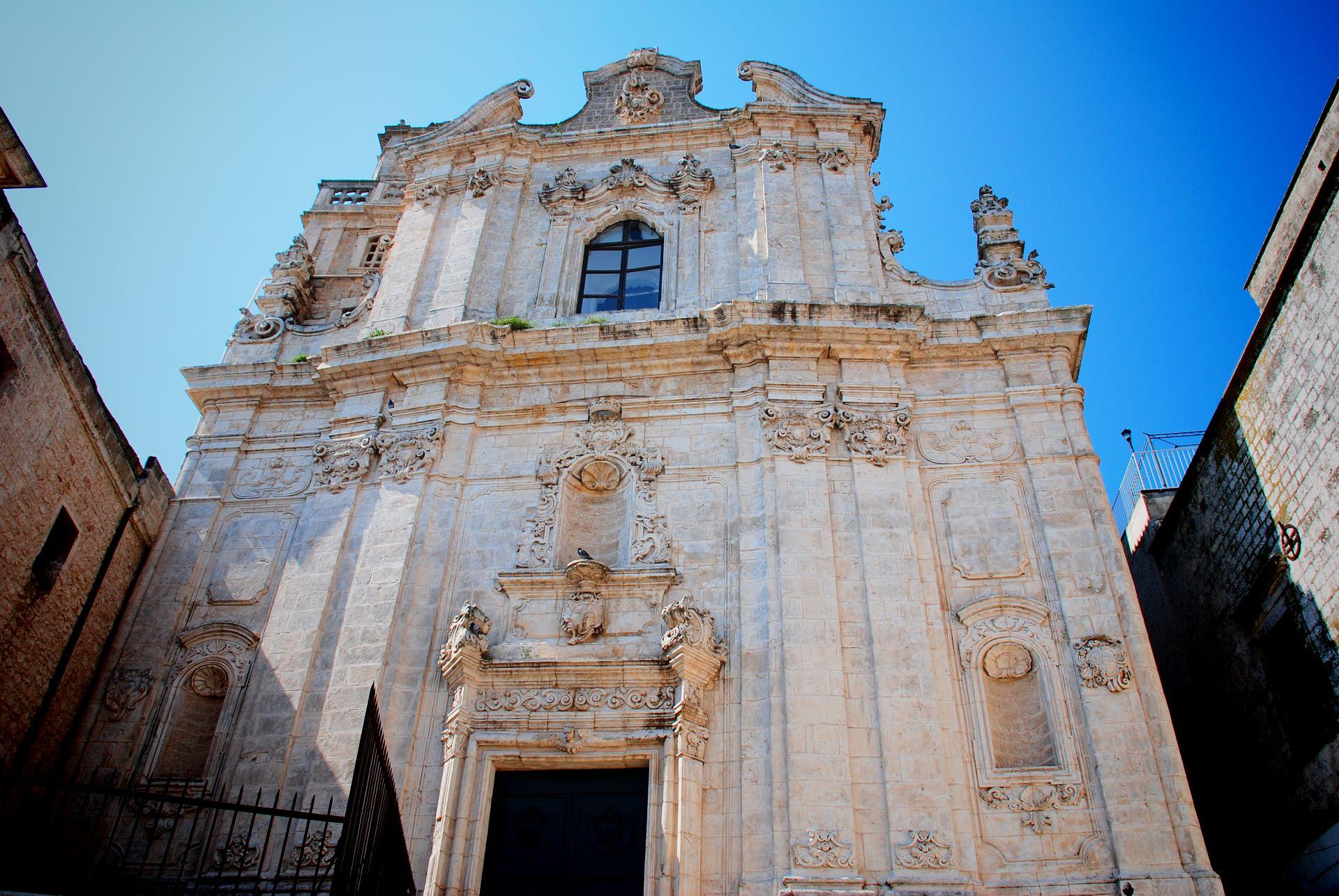 apulia slow travel ostuni san vito chiesa museo ostuni1 facciata white city citta bianca fassade rococo monacelle