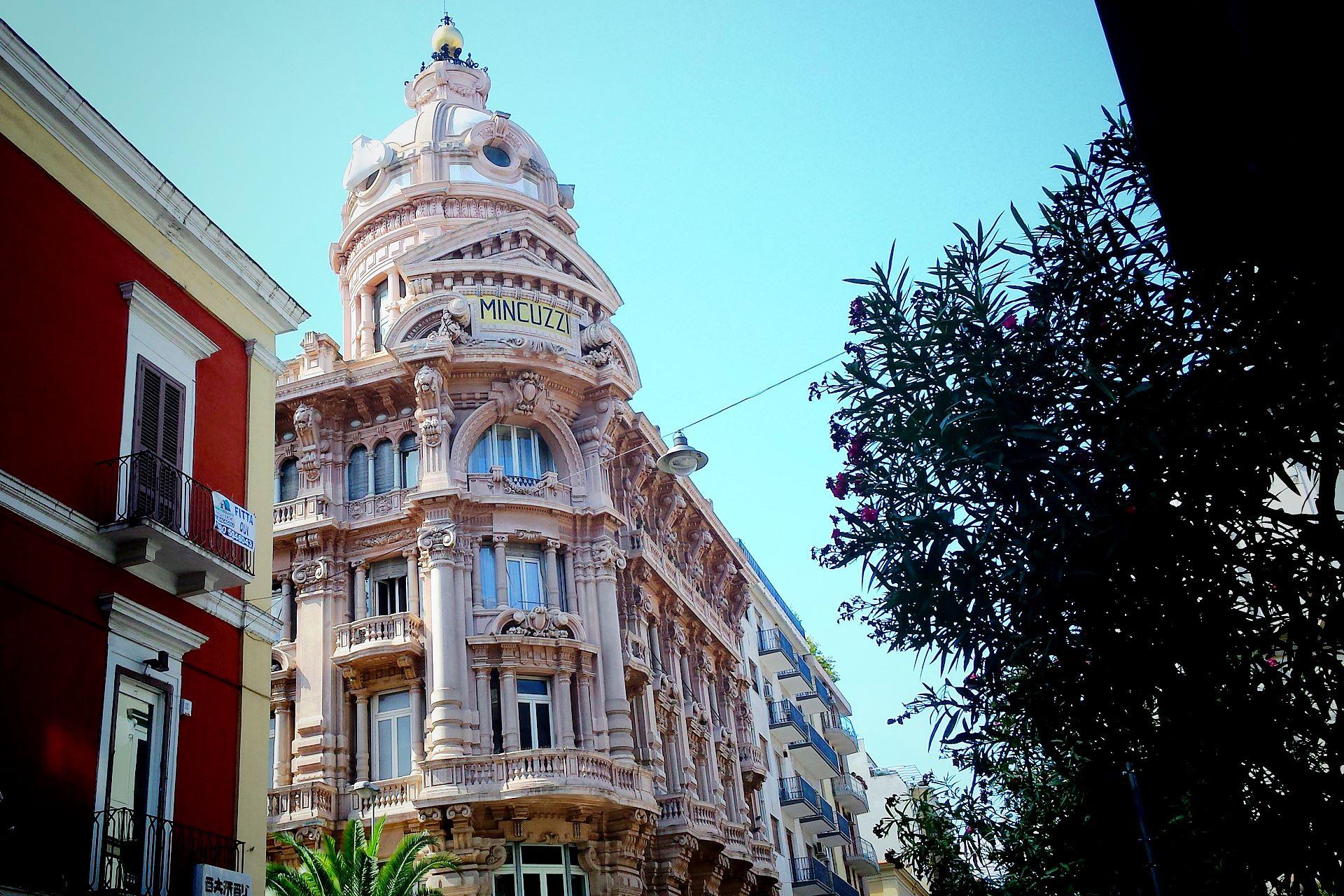 apulia slow travel bari puglia apulien palazzo mincuzzi quartiere murattiano palazzo ottocentesco