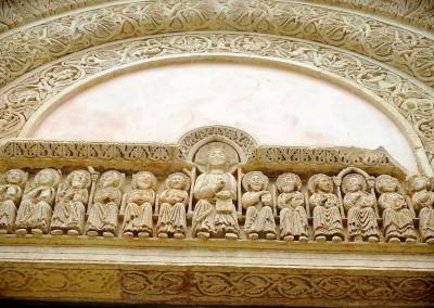 apulia slow travel galatina cattedrale santa caterina romanico romanik bassorilievo low relief
