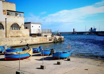 apulia slow travel monopoli meer adria adriatico adriatic sea boat boot barca hafen harbour porto puglia apulien