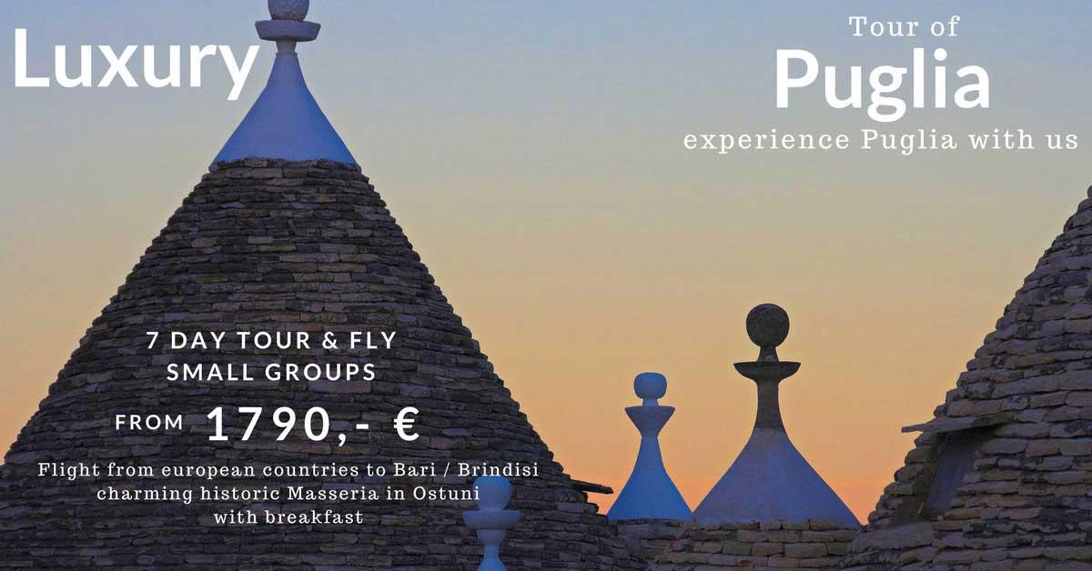 Luxury Tour of Puglia