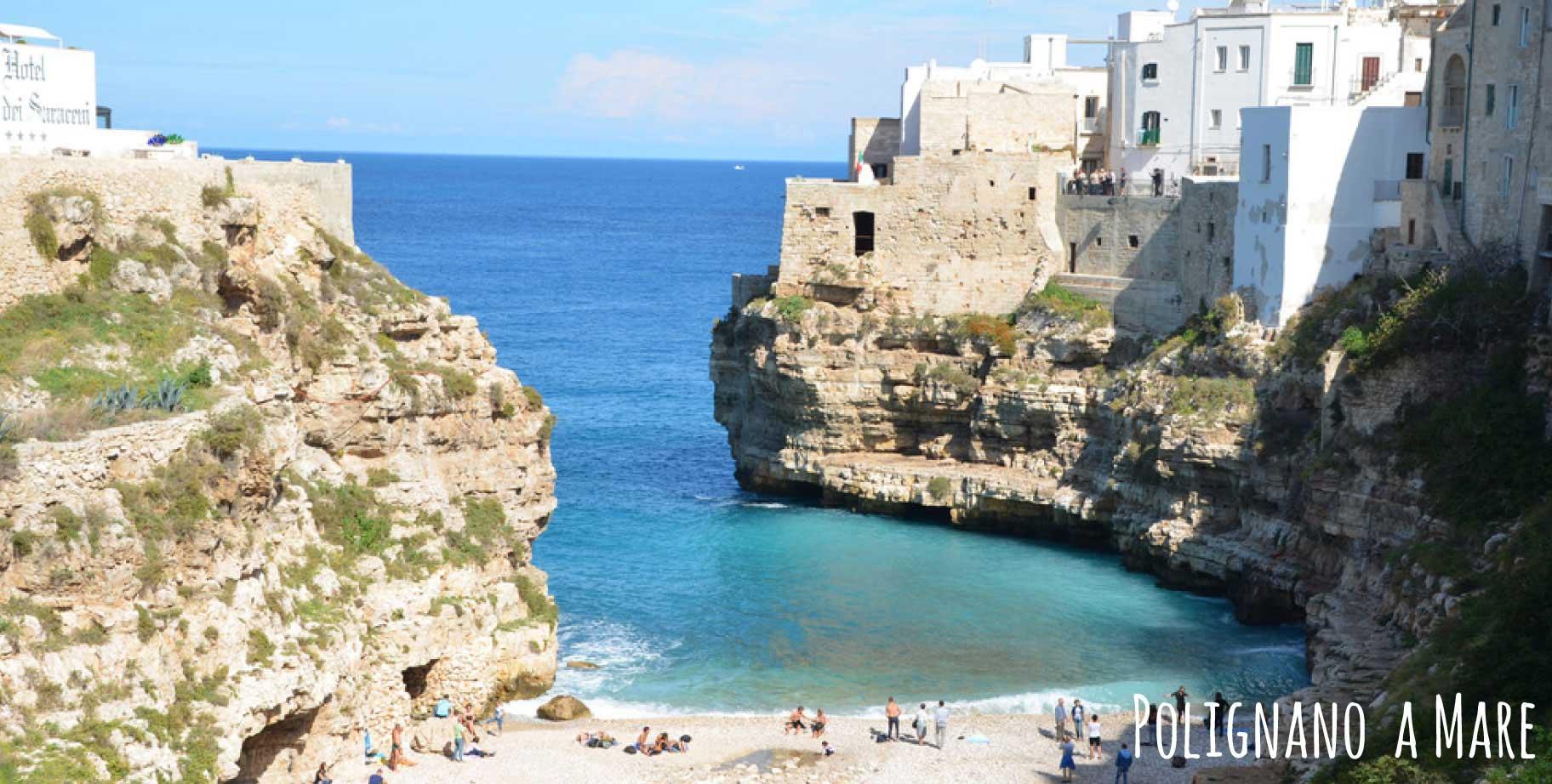 Rundreise Apulien - Polignano a Mare