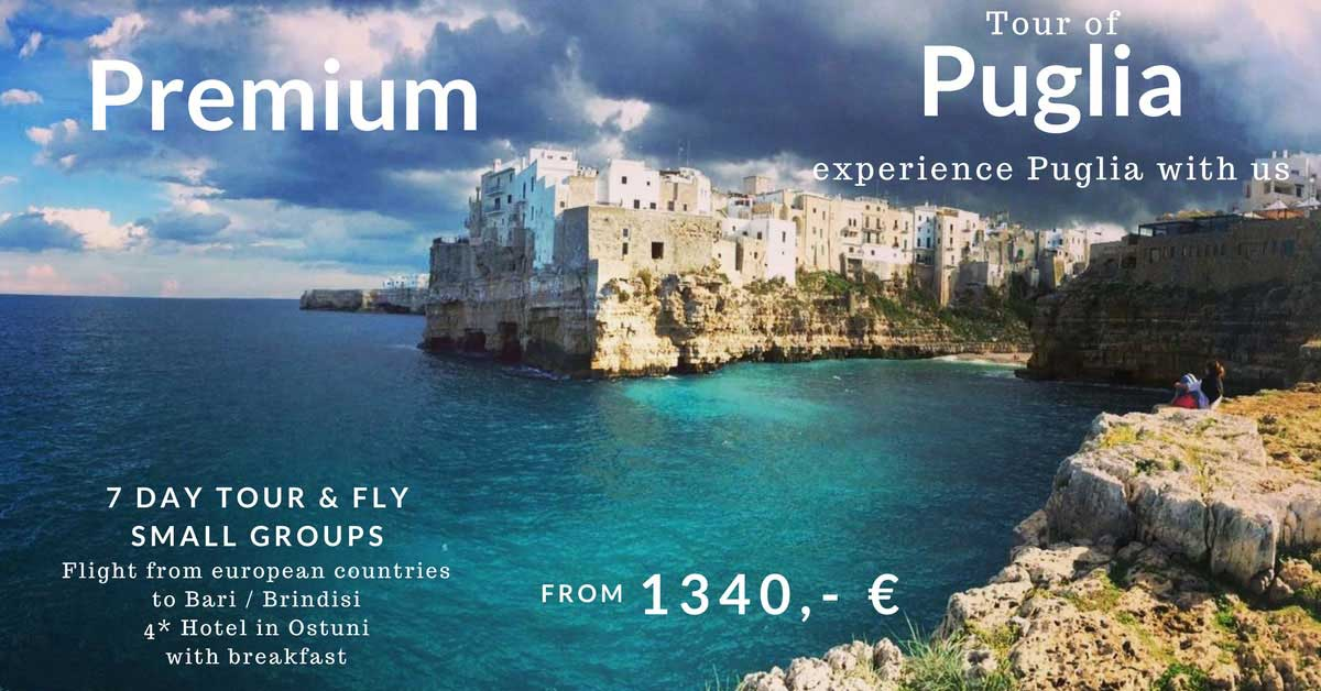 Apulia Tour Premium Special Offer 2018