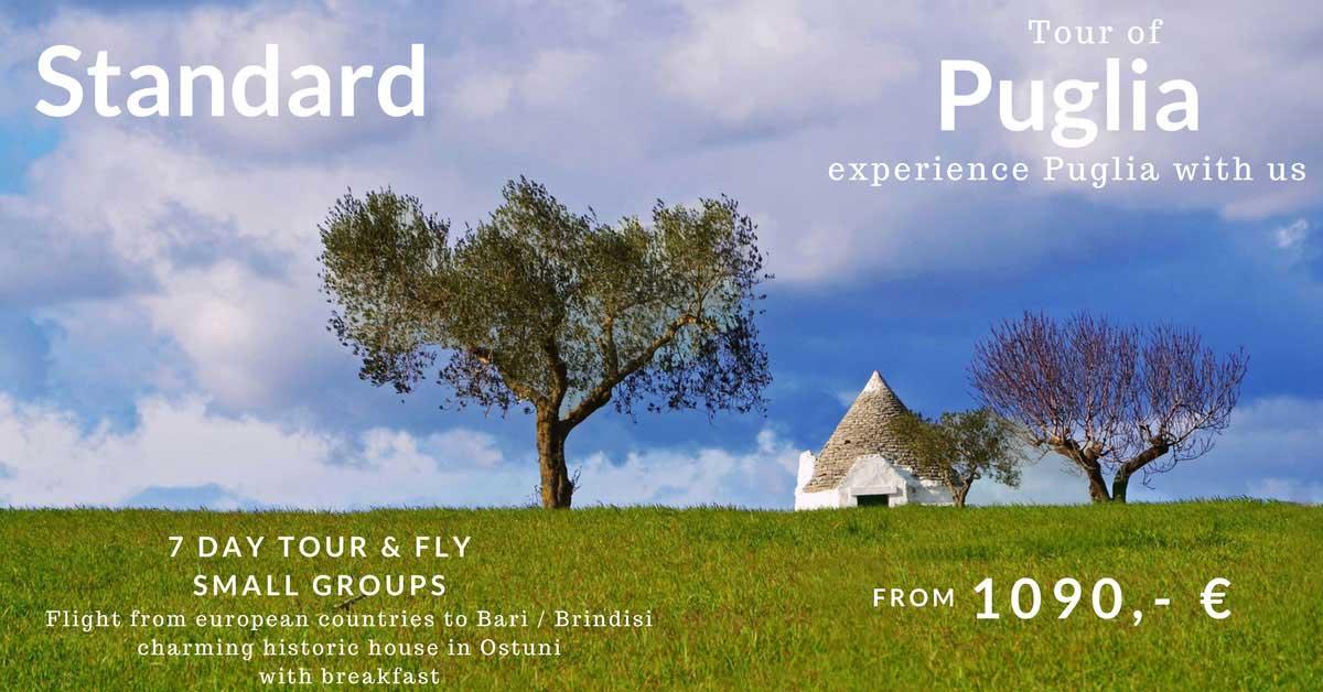 Apulia Tour Standard Special Offer 2018
