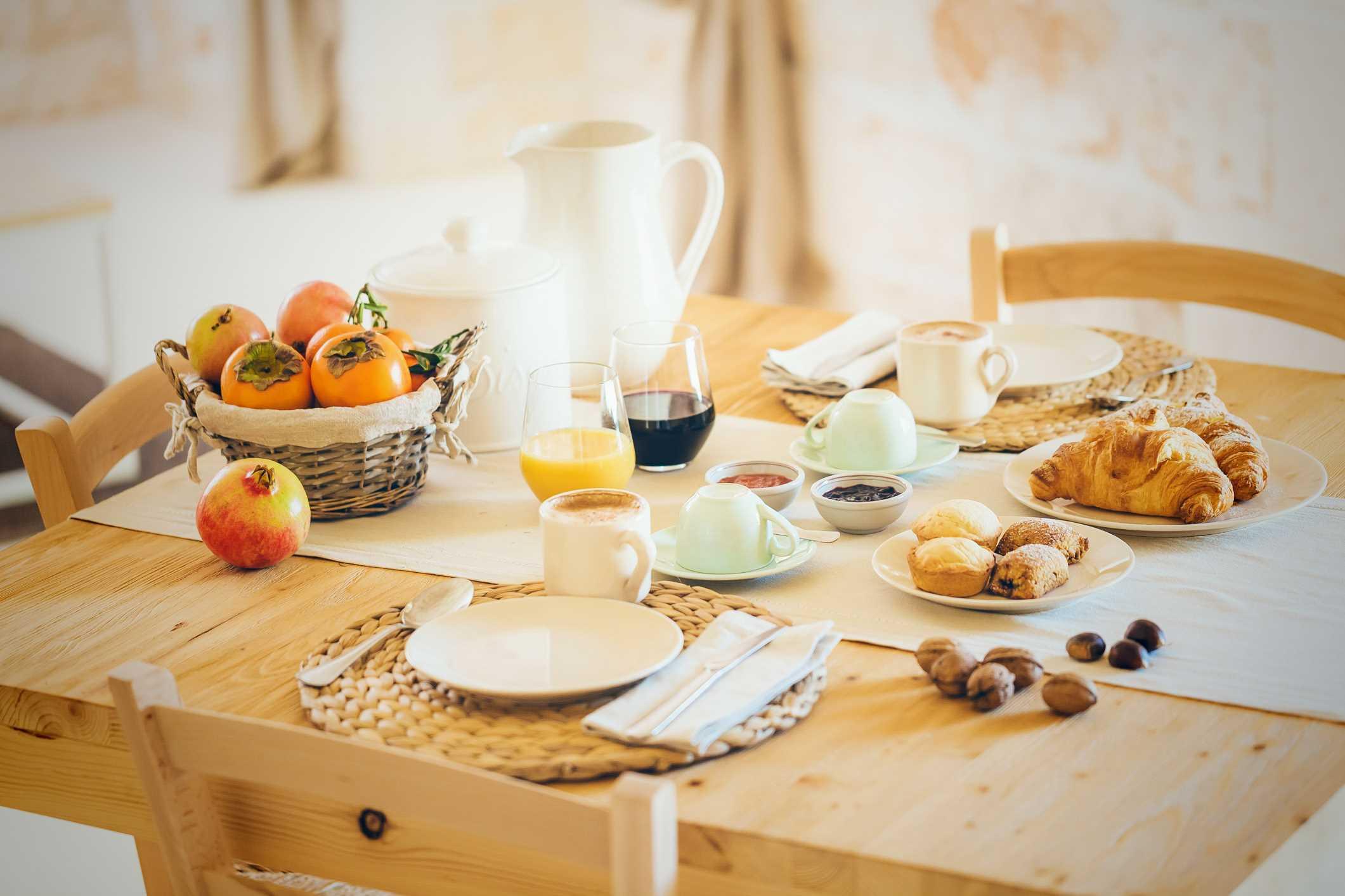 Masseria breakfast Ostuni