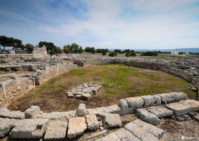 Archaeological excavation of Egnatia