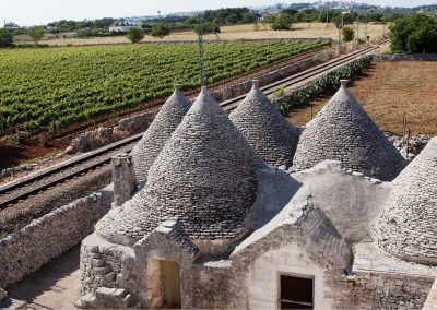 Wine tasting in a trulli winery